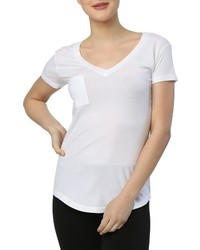 LAmade V Neck Pocket Tee