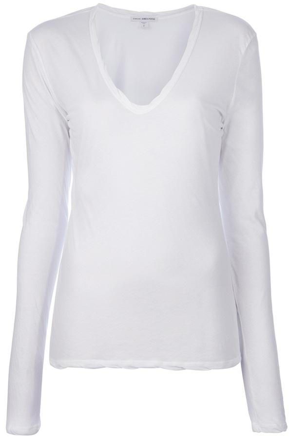James Perse V Neck T Shirt