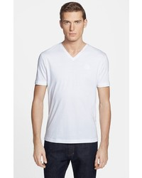 Versace Collection Medusa V Neck T Shirt