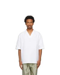Jil Sander White Outer Short Sleeve Shirt