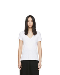 Rag and Bone White The Vee T Shirt