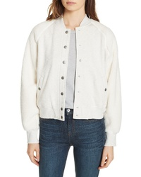 Rag & Bone Jean Teddy Bomber Jacket