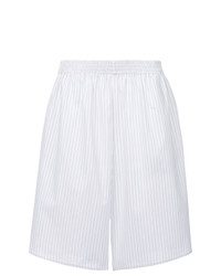 MM6 MAISON MARGIELA Pinstripe Knee Length Shorts