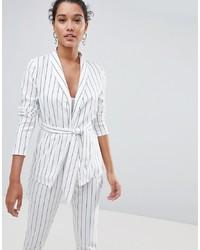 PrettyLittleThing Striped Blazer Co Ord