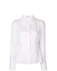 Sonia Rykiel Semi Sheer Striped Blouse
