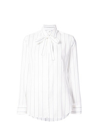 Y's Striped Tie Front Shirt
