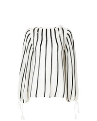 See by Chloe See By Chlo Striped Tie Detail Jumper