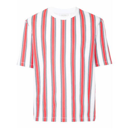 340848eb09 CK Calvin Klein Regital Strip Printed T Shirt, $80 | farfetch.com ...