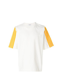 Dima Leu Stripe Sleeve T Shirt