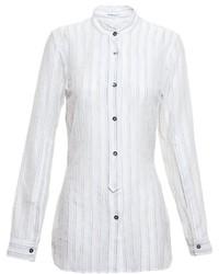 Ann Demeulemeester Blanche Striped Shirt