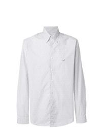 Etro Button Down Dots Striped Shirt
