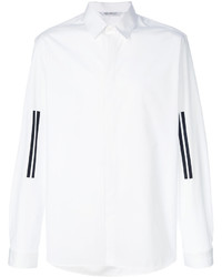 Classic shirt with stripes on sleeves medium 4977920