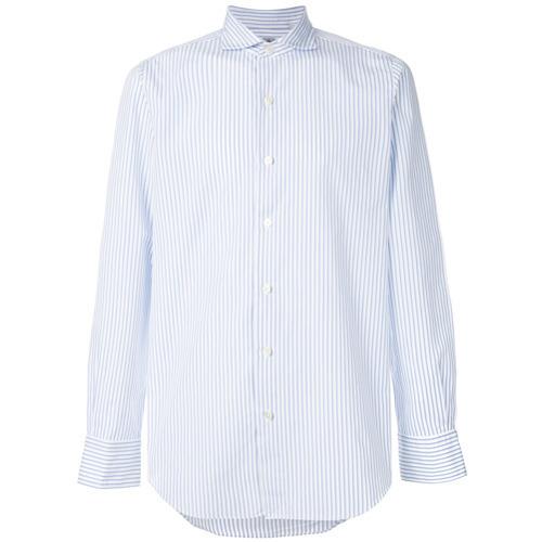 67cd0002a92 ... Finamore 1925 Napoli Classic Striped Shirt ...