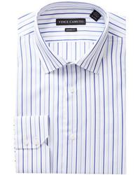 Vince Camuto Dobby Stripe Modern Fit Dress Shirt