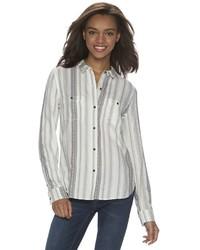 Mudd Juniors 2 Pocket Button Down Shirt