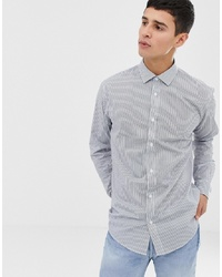 ONLY & SONS Slim Smart Shirt With Vertical Stripe