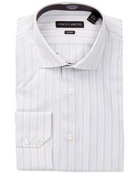 Vince Camuto Stripe Long Sleeve Modern Fit Dress Shirt