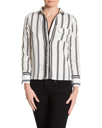 Lucca Couture Stripe Long Sleeve Shirt