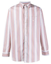 Etro Striped Button Down Cotton Shirt