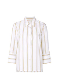Marni Striped Wide Cuff Shirt