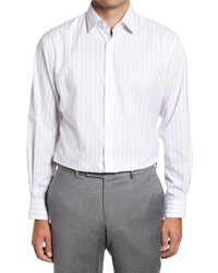 Nordstrom Traditional Fit Stripe Non Iron Dress Shirt