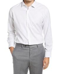 Nordstrom Trim Fit Shadow Stripe Dress Shirt