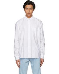 Études White Striped Address Shirt