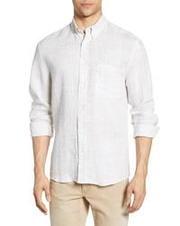 Billy Reid Tuscumbia Regular Fit Linen Shirt