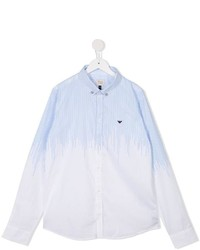 Armani Junior Stripe Detail Shirt