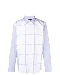 Comme Des Garcons Homme Plus Comme Des Garons Homme Plus Appliqu Striped Shirt