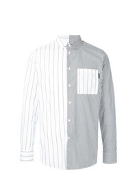 GUILD PRIME Contrast Striped Shirt