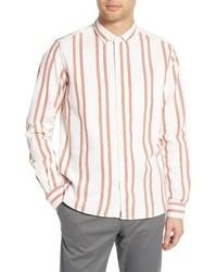 YMC Dean Regular Fit Stripe Sport Shirt