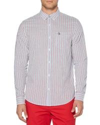 Original Penguin Hairline Stripe Sport Shirt