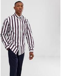 Jack & Jones Originals Shirt With Vertical Stripe In Regular Fit