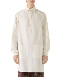 Gucci Oversize Stripe Cotton Shirt