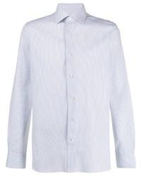 Ermenegildo Zegna Pinstriped Button Up Shirt