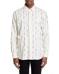 Saint Laurent Rayuers Pattern Sport Shirt