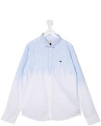Armani Junior Stripe Detail Shirt