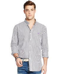 Polo Ralph Lauren Stripe Poplin Long Sleeve Shirt