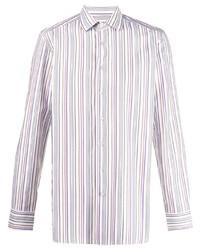 Etro Stripe Print Cotton Shirt
