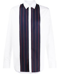 DSQUARED2 Striped Front Relaxed Fit Shirt