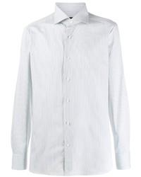 Ermenegildo Zegna Striped Long Sleeve Shirt