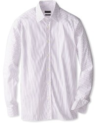 Z Zegna Striped Long Sleeve Shirt