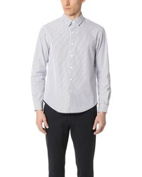 TOMORROWLAND Striped Poplin Long Sleeve Shirt