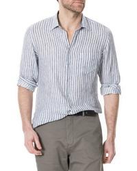 Rodd & Gunn Victoria Avenue Regular Fit Stripe Sport Shirt