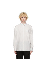 mfpen White And Beige Distant Shirt