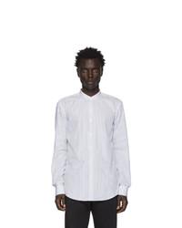 BOSS White And Black Stripe Jordi Shirt