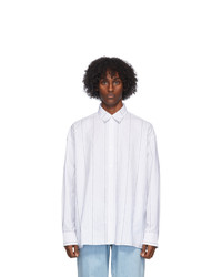 Études White Illusion Striped Shirt