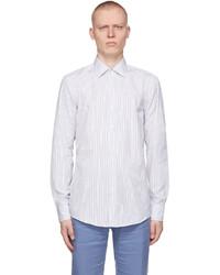 BOSS White Striped Jango Shirt