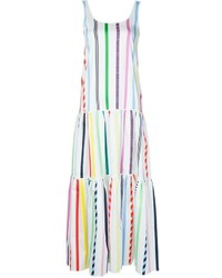 Mira Mikati Candy Stripe Maxi Dress